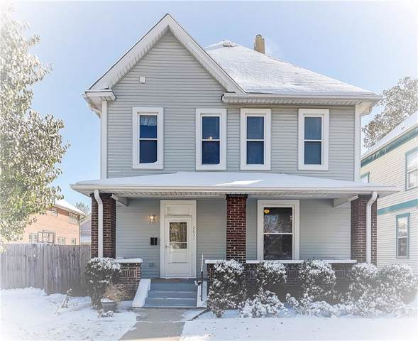 2631 N Alabama Street, Indianapolis, IN 46205 (MLS #21675242) :: The Evelo Team