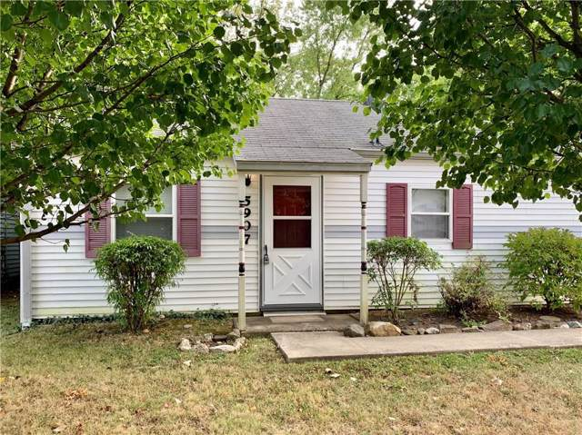 5907 E 16th Street, Indianapolis, IN 46218 (MLS #21675248) :: Heard Real Estate Team   eXp Realty, LLC