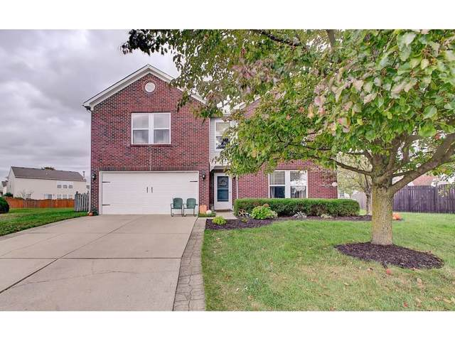 14555 Stewart Circle, Fishers, IN 46038 (MLS #21675386) :: The Indy Property Source