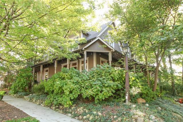 345 W Hawthorne Street, Zionsville, IN 46077 (MLS #21675514) :: The Indy Property Source