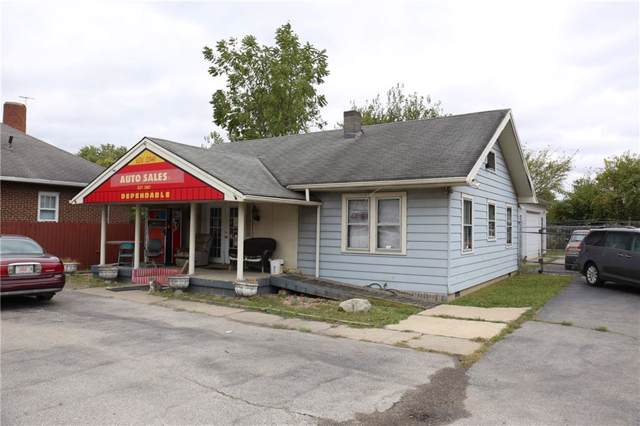 3611 W Washington Street, Indianapolis, IN 46241 (MLS #21675537) :: Mike Price Realty Team - RE/MAX Centerstone