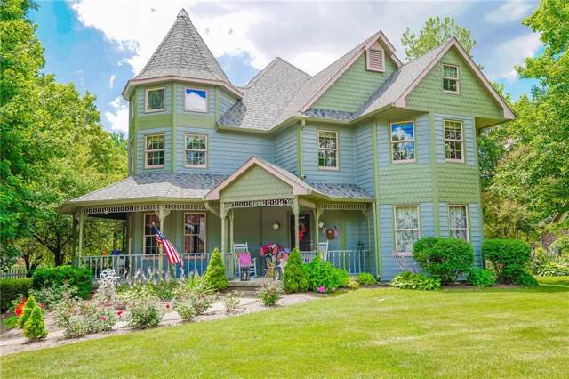 7153 W Amelia Drive, New Palestine, IN 46163 (MLS #21675611) :: The ORR Home Selling Team