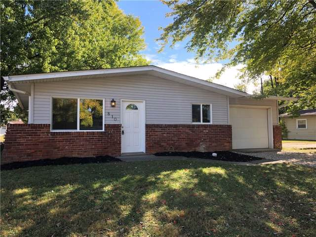 810 Carlin Drive, Shelbyville, IN 46176 (MLS #21675978) :: The Star Team | RE/MAX Realty Group