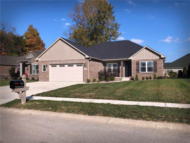 3345 Rockingham Way, Plainfield, IN 46168 (MLS #21676268) :: The Indy Property Source