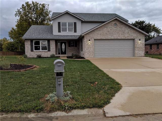1101 Fallway Court, Shelbyville, IN 46176 (MLS #21676318) :: David Brenton's Team