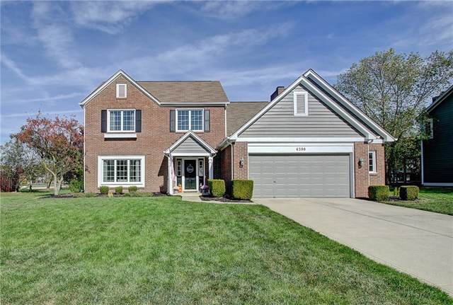 6390 Columbia Circle, Fishers, IN 46038 (MLS #21676419) :: Mike Price Realty Team - RE/MAX Centerstone