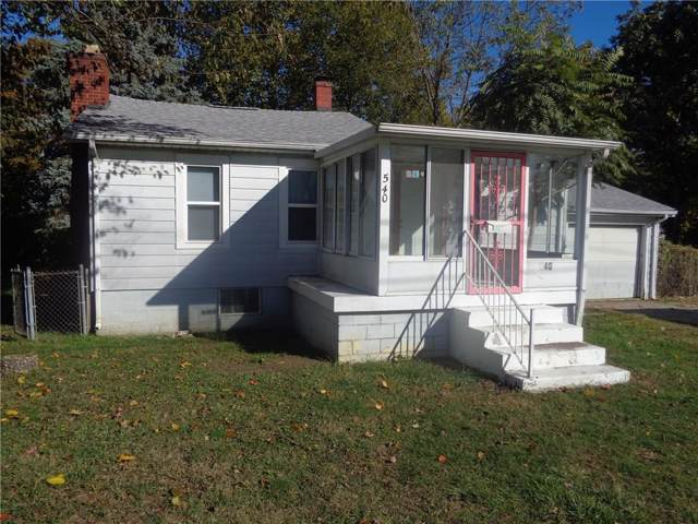 540 E Main, Greenwood, IN 46143 (MLS #21676740) :: Mike Price Realty Team - RE/MAX Centerstone