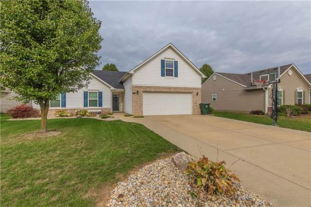 4094 S Turning Leaf Court, New Palestine, IN 46163 (MLS #21678063) :: The Indy Property Source