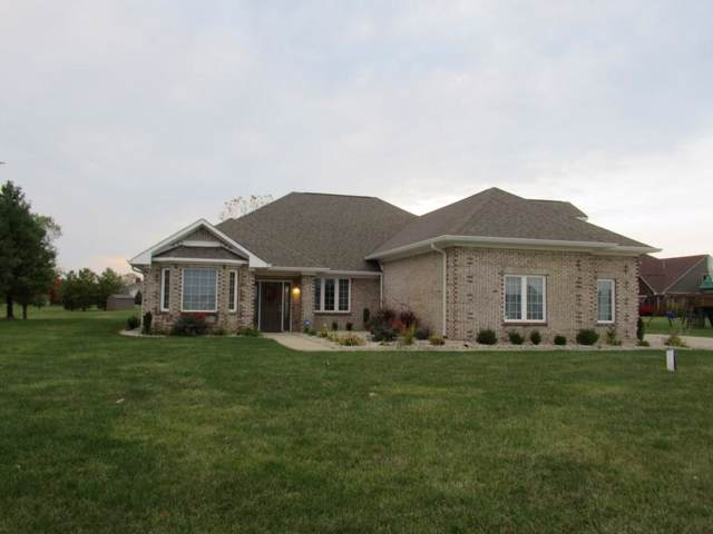 4814 S 550 W, New Palestine, IN 46163 (MLS #21678139) :: The Indy Property Source