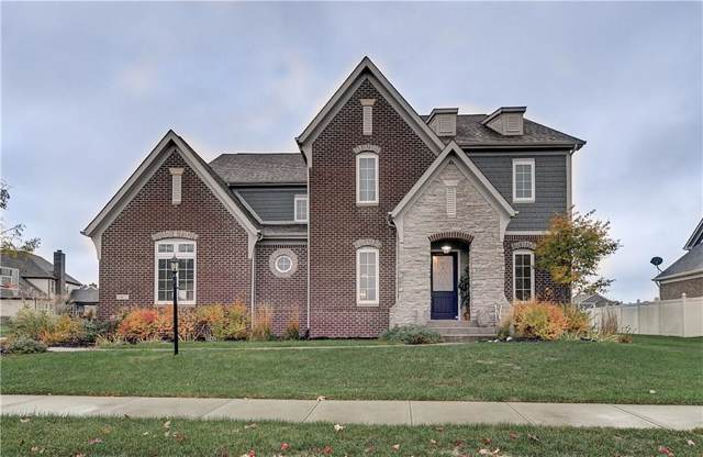10671 Sunglow Drive, Fishers, IN 46038 (MLS #21678780) :: AR/haus Group Realty