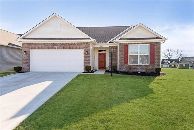 1293 Blackthorne Trail N, Plainfield, IN 46168 (MLS #21679244) :: The Indy Property Source