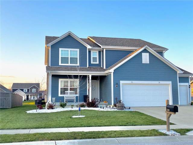 2228 Mozart Drive, Greenfield, IN 46140 (MLS #21679864) :: The Star Team | RE/MAX Realty Group