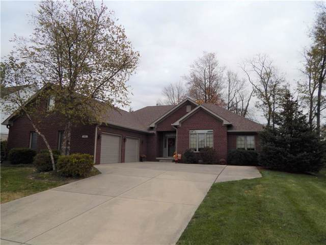 3927 S Cedar Creek Lane, New Palestine, IN 46163 (MLS #21680031) :: The Indy Property Source