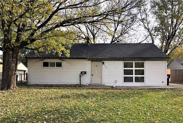 455 Southgate Drive, Greenwood, IN 46143 (MLS #21680214) :: The Star Team | RE/MAX Realty Group