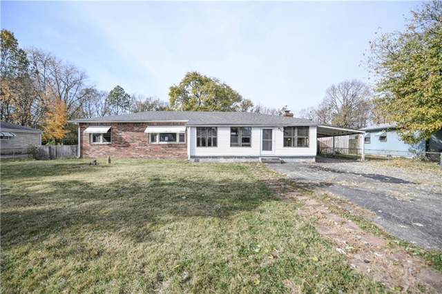 302 N Cole Street, Indianapolis, IN 46224 (MLS #21680437) :: The Indy Property Source