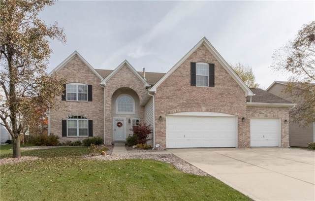 11361 Rainbow Falls Lane, Fishers, IN 46037 (MLS #21680623) :: The Indy Property Source