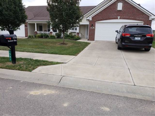 1581 E Leisure Way E, Greenfield, IN 46140 (MLS #21680624) :: AR/haus Group Realty