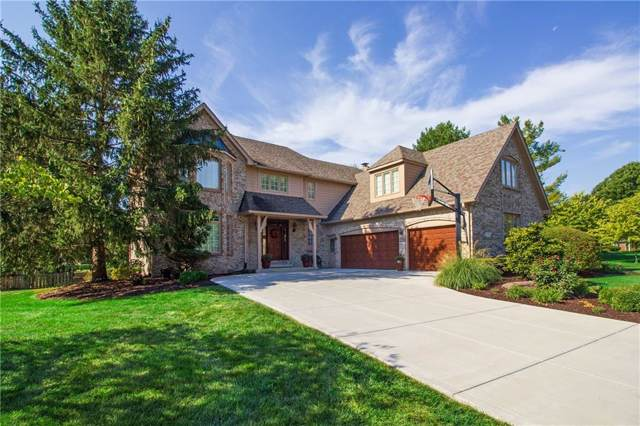1963 Camargue Drive, Zionsville, IN 46077 (MLS #21680630) :: Mike Price Realty Team - RE/MAX Centerstone