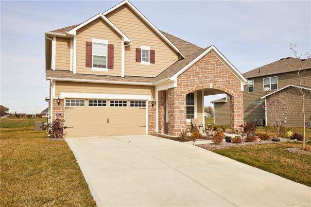 15452 Eastpark Circle W, Fishers, IN 46037 (MLS #21680633) :: The Indy Property Source