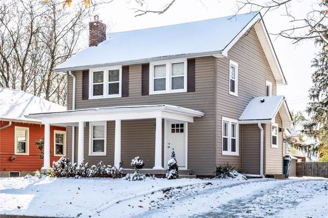 517 Berkley Road, Indianapolis, IN 46208 (MLS #21680747) :: The Indy Property Source