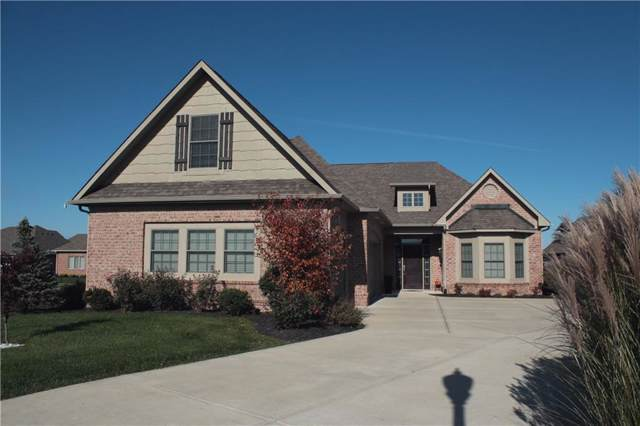 4343 Thompson Row, Greenwood, IN 46143 (MLS #21680788) :: Mike Price Realty Team - RE/MAX Centerstone