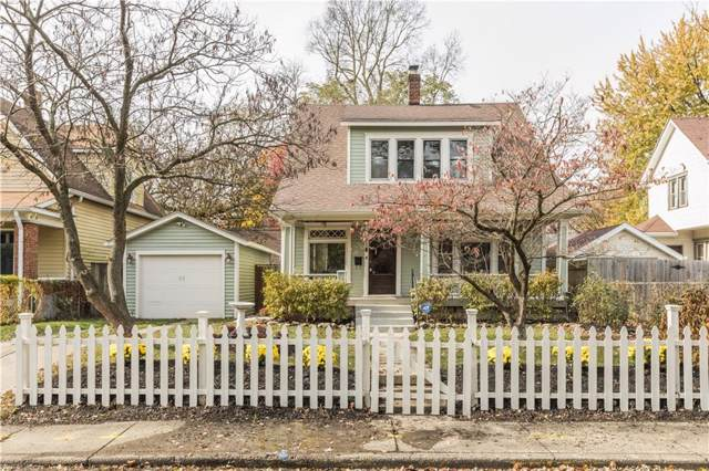 916 N Tecumseh Street, Indianapolis, IN 46201 (MLS #21680887) :: The Indy Property Source