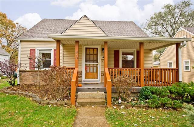 313 N 15th Avenue, Beech Grove, IN 46107 (MLS #21680931) :: Mike Price Realty Team - RE/MAX Centerstone