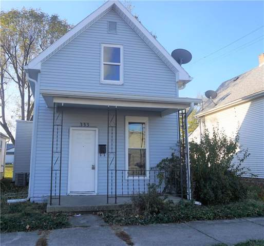 333 E Mechanic Street, Shelbyville, IN 46176 (MLS #21681010) :: The Star Team   RE/MAX Realty Group