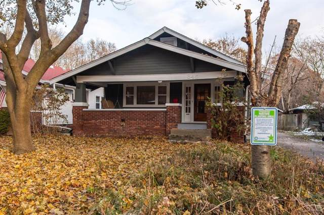 345 Poplar Road, Indianapolis, IN 46219 (MLS #21681428) :: The Star Team | RE/MAX Realty Group