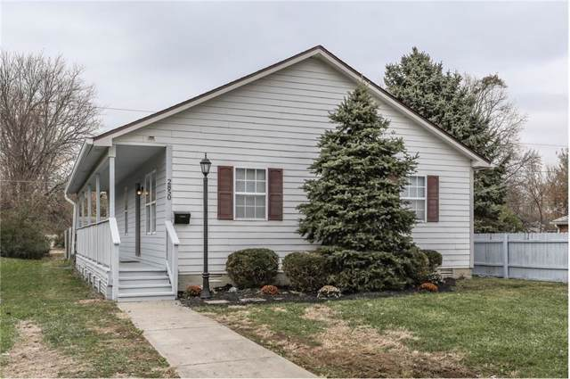2850 S State Avenue, Indianapolis, IN 46203 (MLS #21681486) :: The Evelo Team