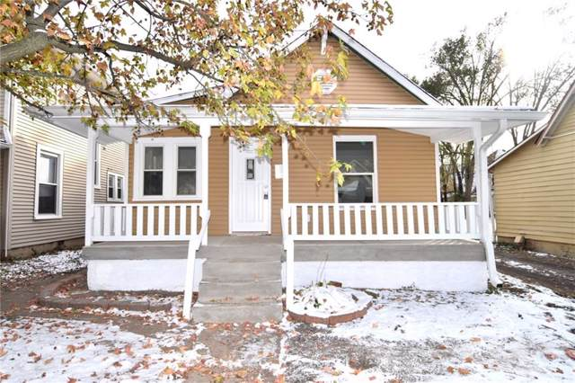 1515 E Ohio Street, Indianapolis, IN 46201 (MLS #21681515) :: The Star Team | RE/MAX Realty Group