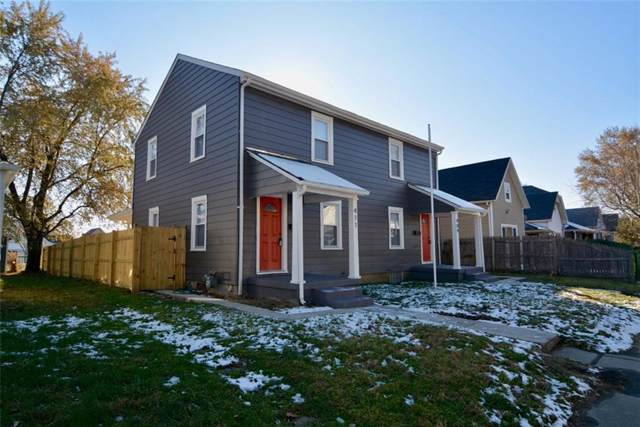 411 Iowa Street, Indianapolis, IN 46225 (MLS #21681581) :: Mike Price Realty Team - RE/MAX Centerstone