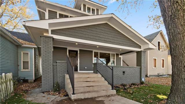 245 E Minnesota Street, Indianapolis, IN 46225 (MLS #21681703) :: AR/haus Group Realty