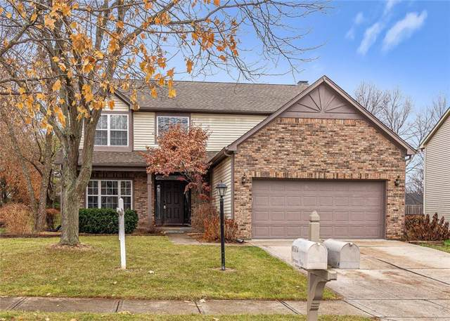 10505 Greenway Drive, Fishers, IN 46037 (MLS #21681838) :: Richwine Elite Group