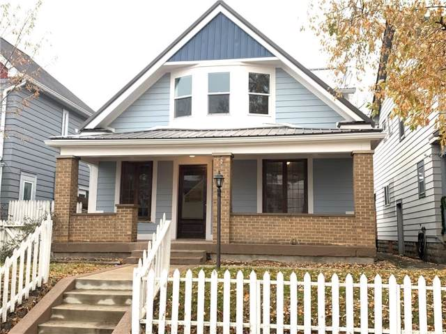 1429 S East Street, Indianapolis, IN 46225 (MLS #21681863) :: The Star Team | RE/MAX Realty Group