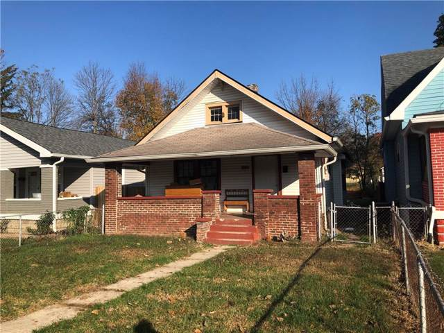 1122 W 34th Street, Indianapolis, IN 46208 (MLS #21681911) :: The Star Team | RE/MAX Realty Group