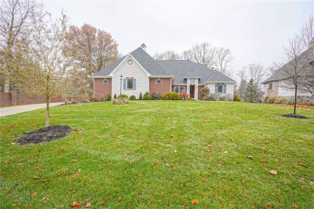11620 Carriage Lane, Carmel, IN 46033 (MLS #21682084) :: The Indy Property Source