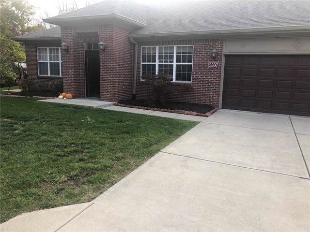 5337 Ladywood Knoll Place, Indianapolis, IN 46226 (MLS #21682266) :: Richwine Elite Group