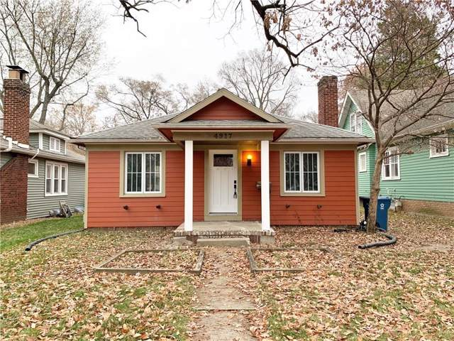 4917 Guilford Avenue, Indianapolis, IN 46205 (MLS #21682333) :: The Evelo Team