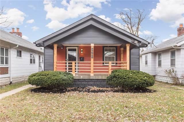920 N Bosart Avenue, Indianapolis, IN 46201 (MLS #21683441) :: Heard Real Estate Team | eXp Realty, LLC