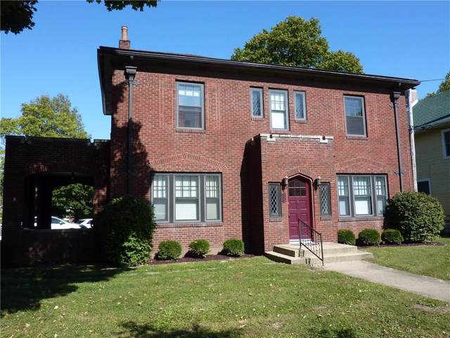 615 E Seminary Street, Greencastle, IN 46135 (MLS #21683452) :: The Indy Property Source