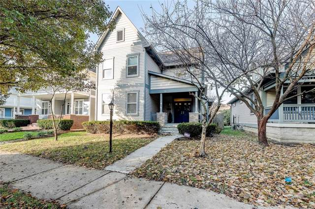 2306 N Talbott Street, Indianapolis, IN 46205 (MLS #21683511) :: The ORR Home Selling Team