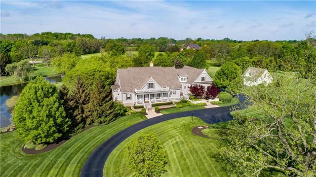 7256 Hunt Club Drive, Zionsville, IN 46077 (MLS #21683634) :: The Evelo Team