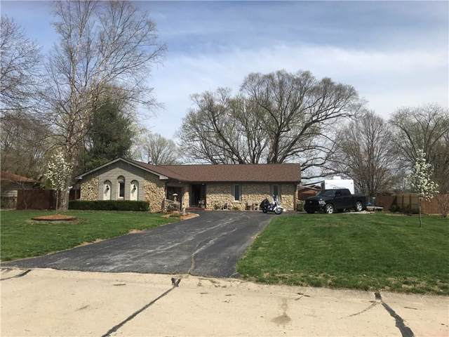 1411 S Highland Drive, Franklin, IN 46131 (MLS #21684020) :: The Indy Property Source
