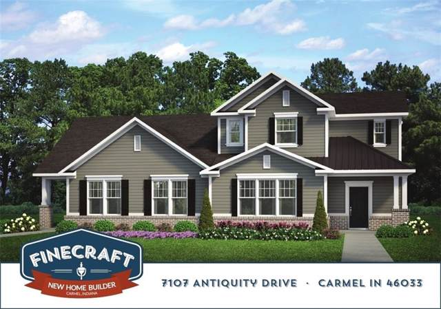 7107 Antiquity Drive, Carmel, IN 46033 (MLS #21684284) :: The Indy Property Source