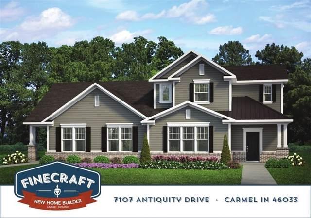 7107 Antiquity Drive, Carmel, IN 46033 (MLS #21684284) :: David Brenton's Team