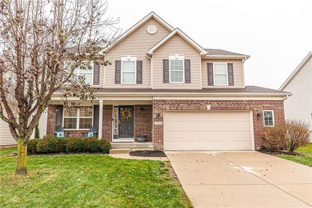 7816 Sea Eagle Circle, Zionsville, IN 46077 (MLS #21684414) :: The Evelo Team