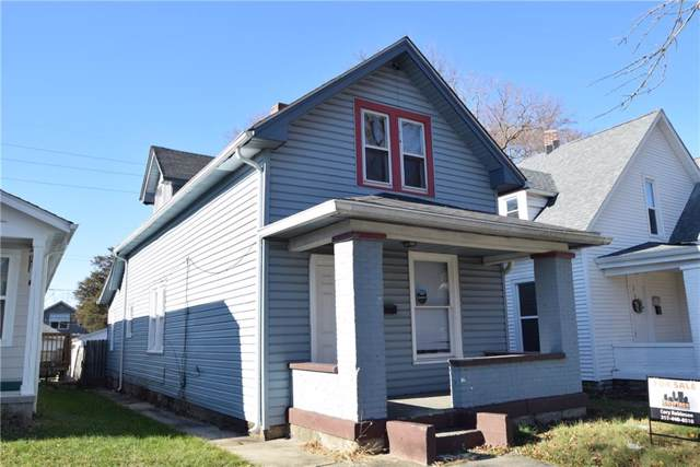 28 N Denny Street, Indianapolis, IN 46201 (MLS #21684424) :: The Indy Property Source