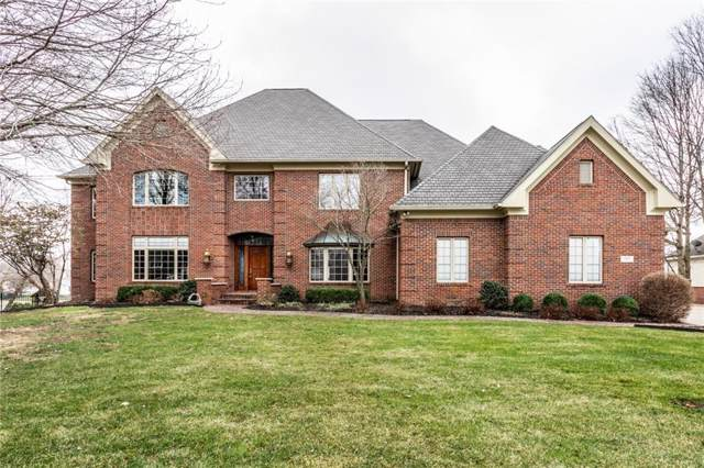 12101 Windpointe Pass, Carmel, IN 46033 (MLS #21684557) :: Mike Price Realty Team - RE/MAX Centerstone