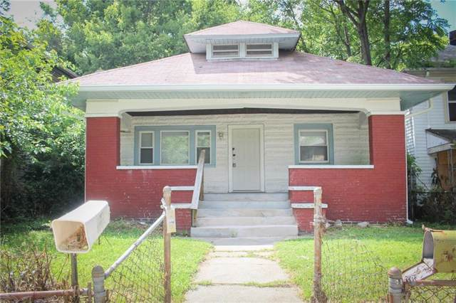 1344 N Olney Street, Indianapolis, IN 46201 (MLS #21684790) :: The Indy Property Source